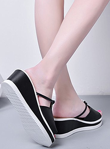 Femme Sandales Toe Aisun Peep Mode 0avvz