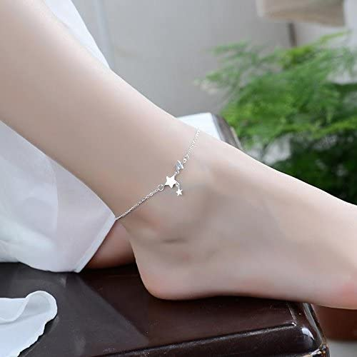 daisy anklet POLPEP bell anklets women girls student unique woman gift red string silver legs foot ring chain rope couple lover