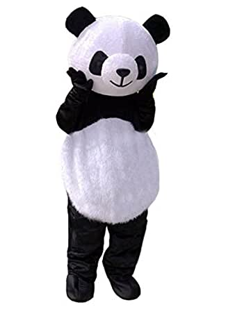 Image Unavailable. Image not available for  sc 1 st  Amazon.com & Amazon.com: Panda Mascot Costume Panda Costume Adult Halloween Fancy ...