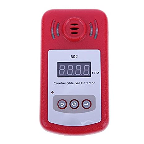 LALICORP KXL-602 300~10000PPM Digital Gas Detector Natural Gas Biogas Combustible Gas Analyzers Safety Alarm System - - Amazon.com