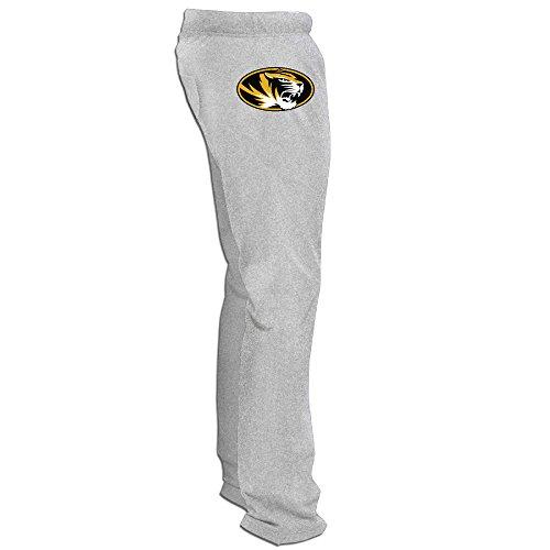 Missouri Tigers Logo Men's Sweatpants Ash ()