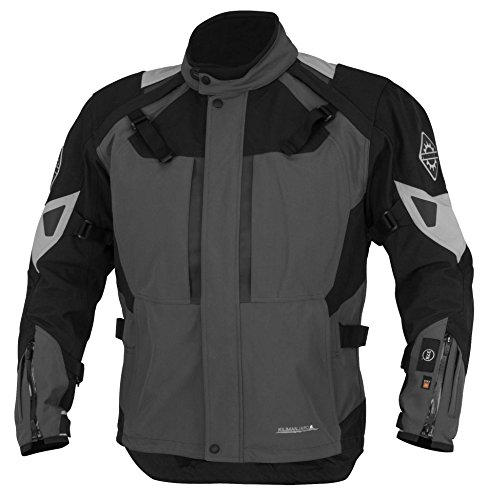 (Firstgear 37.5 Women's Kilimanjaro Gray/Black Textile Jacket)