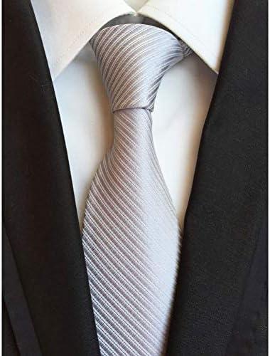 WOXHY Nuevos Accesorios de Moda Corbata 8 cm Lazos de los Hombres ...