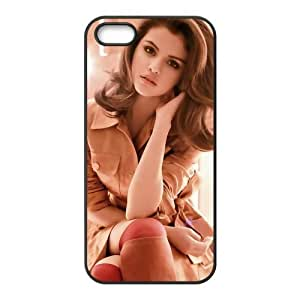 Custom Personalized Selena Gomez Back Cover Case for iphone5,5S Designed by HnW Accessories
