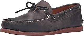 official store low cost beauty Sperry Top-Sider Men's Gold A/O 1-Eye Wedge Charcoal/Brick Boat ...