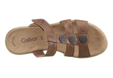 Gabor pantolette-marron - 8.5 uK