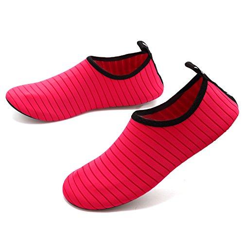 Sports Barefoot VIFUUR Water Women Socks Peach for Yoga Men Quick on Slip Kids Dry Shoes Aqua aqq5wt
