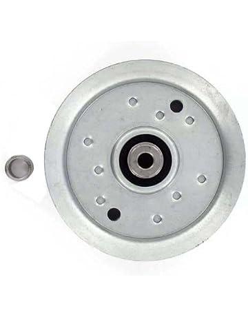 Polea de garganta Plate con rebords. Diámetro: Ext: 125 mm, orificio:
