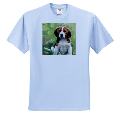 Dogs Beagle - Beagle Puppy - T-Shirts - Toddler Light-Blue-T-Shirt (3T)