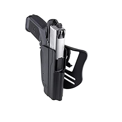 FNH 45 Revolution Blade Tech OWB Holster (with both Paddle and ASR Belt attachment)
