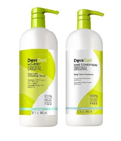 DevaCurl DUO - One Condition 32oz + No-Poo 32oz by DevaCurl