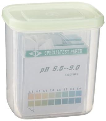 3B Scientific U29201 pH Indicator Paper Set, 0-14 pH Range (4 Pack of 100 strips)