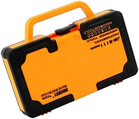 Hellery ハードウェアセット 精密ドライバー プロ用 ネジ ピン付き 電池交換 メガネ修理 多機能ツール 69イン 1