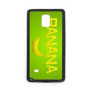 banana Samsung Galaxy Note 4 Cell Phone Case Black yyfD-402959