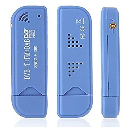 CandyQ Digital USB2.0 RTL2832U+R820T Tuner Receiver Stick DVB-T SDR+DAB+FM TV HDTV