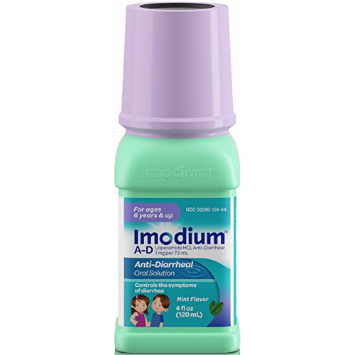 Anti Diarrheal Mint - Imodium A D Anti Diarrheal Mint Flavor 4 Ounces