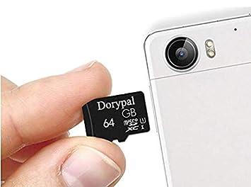 Dorypal Carte M/émoire 64GB MicroSD Extreme Memory Card SD pour Smartphone,Tablette U1-64GB