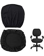 BTSKY Modern enkelhet stil töjbart separat stolskydd - avtagbart fjädrande stolskydd för kontor roterande stol svängbar stol datorstol armstöd (ingen stol)