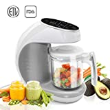 TCBunny Baby Food Maker Processor | 7 in 1 Meal Station with Steam