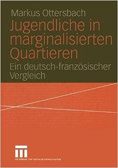 Book Jugendliche in marginalisierten Quartieren: Ein deutsch-französischer Vergleich
