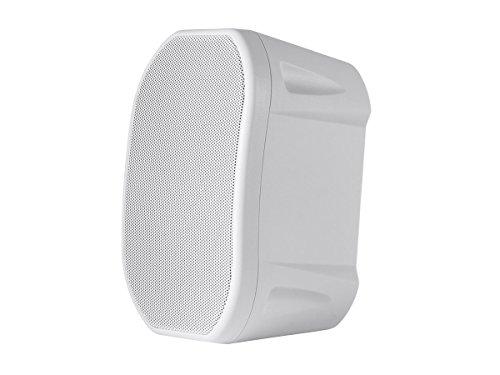 4-inch Weatherproof 2-Way Speakers with Wall Mount Bracket