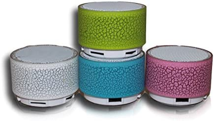Altavoces Bluetooth portátiles inalámbricos con Luces LED ...