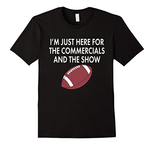 Here for the Commercials... Funny Sunday Final Game T-Shirt