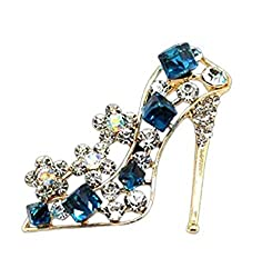 High Heels Shoes Shape Brooch