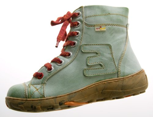 TMA - Botas de Piel para mujer Verde - verde
