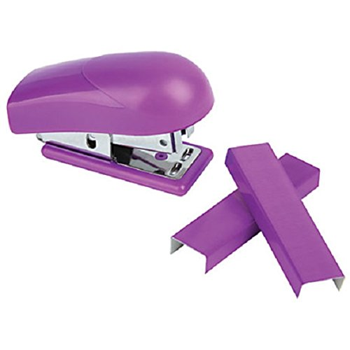 Free Office Depot® Brand Mini Stapler, Purple