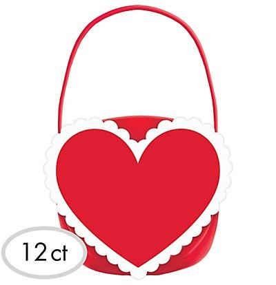 Heart Candy Treat Buckets 12 Count