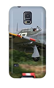 New Style Tpu S5 Protective Case Cover/ Galaxy Case - Hawker Hurricane Mk Iib