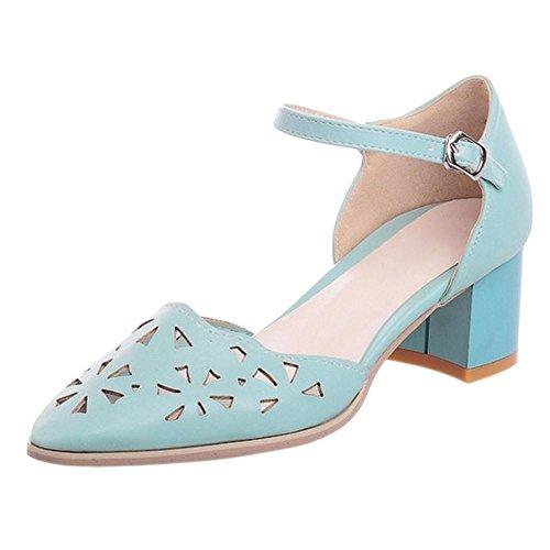 Schuhe Coolcept Court Toe wies Blau Frauen zz1IqA