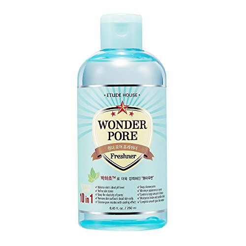 Etude House Wonderpore Frenshner Ad Toner, 8.45 Fluid Ounce