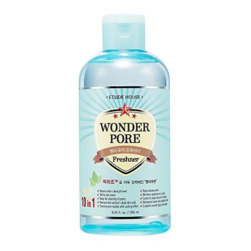 Etude House Wonder Pore Freshener 250ml - Latest Version (10 in 1 Ultra Pore Solution)