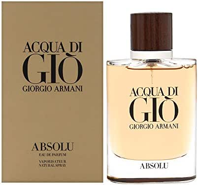 Armani Acqua Di Gio Absolu Eau De Parfum Spray, 2.5 Fl Oz