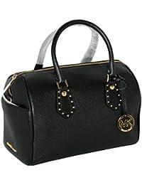Women's ARIA MEDIUM Leather Satchel Studded Handbag
