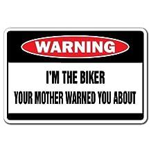 Biker Novelty Sign | Indoor/Outdoor | Funny Home Décor for Garages, Living Rooms, Bedroom, Offices | SignMission dirt bike lover, racing gloves, racing helmet, Wall Plaque Decoration