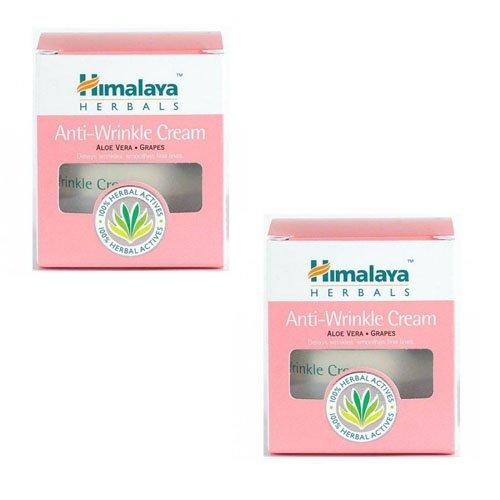"2 x Himalaya Herbals Anti-Wrinkle Cream - 25g - - ""Expedited International Delivery by USPS / FedEx """