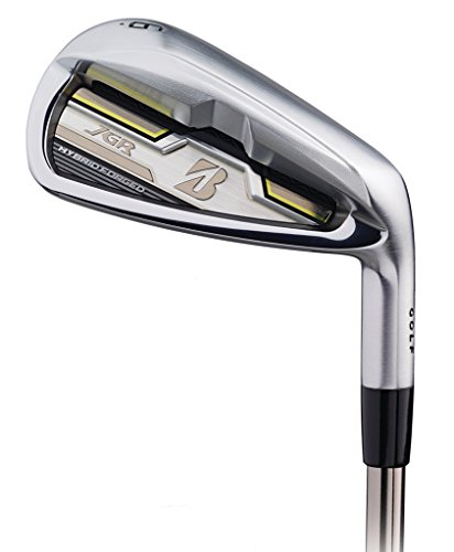 Bridgestone Mens Jgr Hybrid Forged Irons #5 Iron Steel Regular Right by Bridgestone