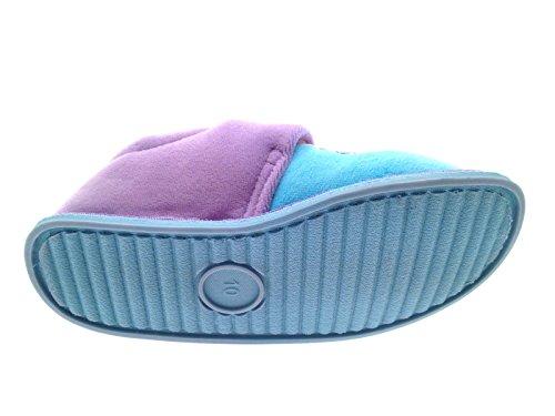 Disney , Mädchen Hausschuhe Frozen Lilac/Blue Velcro - Bagged