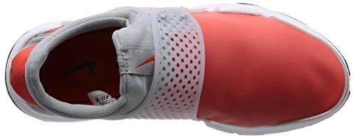 Nike Herren Sock Dart SE Premium Laufschuh Max Orange / Schwarz-Wolf Grau