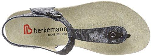 schwarz Silber Berkemann Noir Femme Kilia 952 Tongs 7Xx1xzI