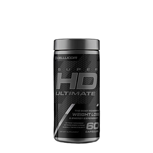 Cellucor, SuperHD Ultimate, The Most Powerful Weight Loss & Energy Experience, 60 Count by Cellucor
