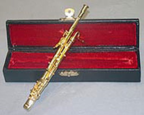 Dollhouse Miniature 1:12 Bassoon with Case by Vemars Products Miniature Bassoon