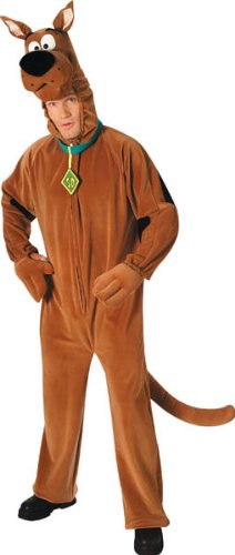 Scooby Do Scooby Costume, Adult Standard (Scooby Doo Costumes For Adults)