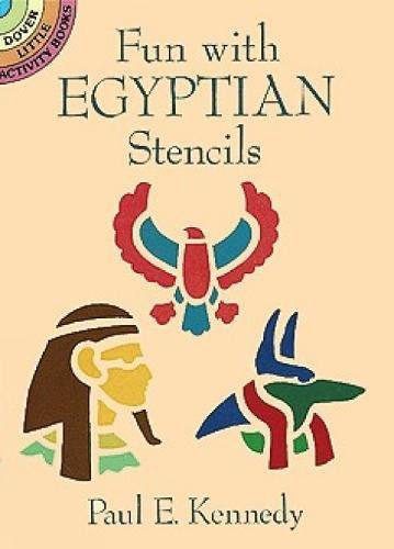 Fun with Egyptian Stencils (Dover Stencils) -