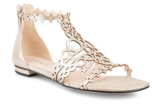 Klub Nico Joellen Sandal Silver Gloss Leather 11M