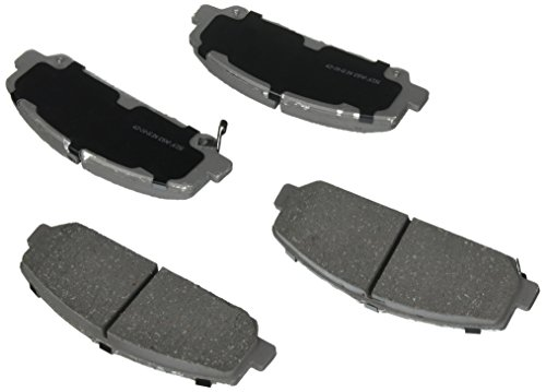 ACDelco 14D1286CH Advantage Ceramic Front Disc Brake Pad Set with Hardware ()