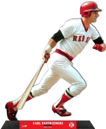 Carl Yastrzemski Boston Red Sox Standz Photo Desktop Display (Size: 10